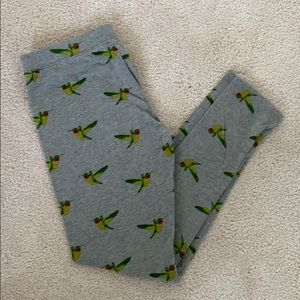 Old Navy Hummingbird Leggings